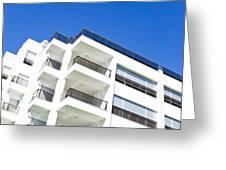 Modern Building Greeting Card