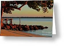 24- Morning In North Palm Beach Greeting Card