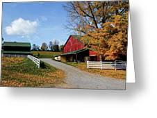 248 New Bedford Hillside Greeting Card