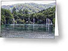 Plitvice Lakes National Park Croatia Greeting Card