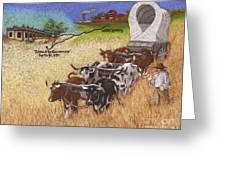 25th Anniversary Santa Fe Trail Association Greeting Card