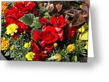,, Flowers ,, Greeting Card