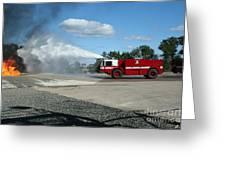 Firefighting Greeting Card
