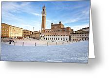 Siena Greeting Card by Andre Goncalves