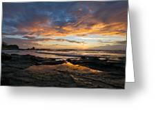 V F Landscape Greeting Card