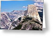 265 - Half Dome 2 Hdr Greeting Card