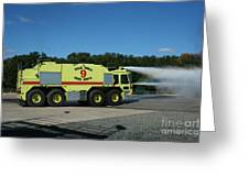 Firefighting Greeting Card
