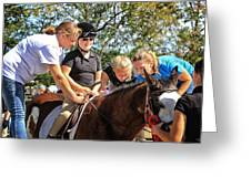 Manito Equestrian Center Benefit Horse Show Greeting Card