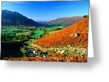 Path Landscape Light Greeting Card