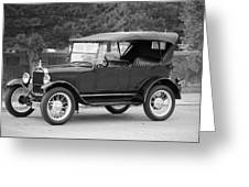 '27 T Touring Greeting Card