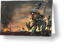 Warhammer Greeting Card