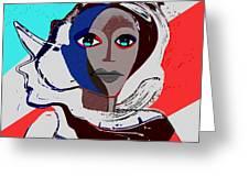 270 - Flashy Woman - Poster 2   Greeting Card