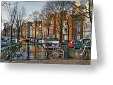 274 Amsterdam Greeting Card