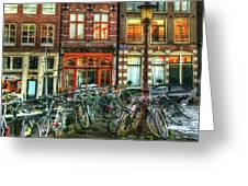 276 Amsterdam Greeting Card