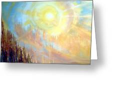 Earth Light Series Greeting Card