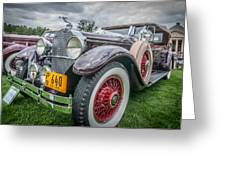 29 Packard Greeting Card