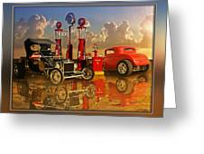 2at Pumps Greeting Card