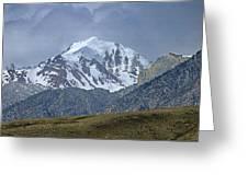 2d07508 High Peak In Lost River Range Greeting Card