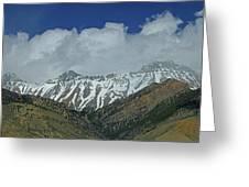 2d07509 High Peaks In Lost River Range Greeting Card