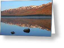 2da5931 Steens Mountain Sunrise Reflect Greeting Card