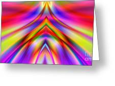 2x1 Abstract 337 Greeting Card