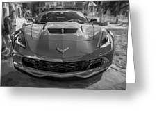 2015 Chevrolet Corvette Zo6 Painted  Greeting Card