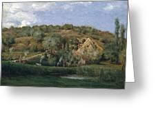 A French Homestead Greeting Card