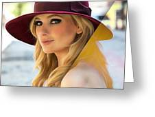 Abigail Breslin Collection Greeting Card