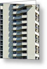 Abstract Architecture Greeting Card