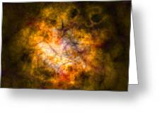 Abstract Stars Nebula Greeting Card