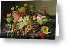 Abundant Fruit Greeting Card