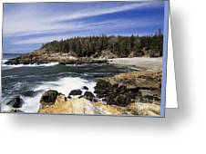 Acadia National Park - Maine Usa Greeting Card