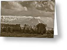 Aladaglar Mountains Greeting Card by Gabriela Insuratelu