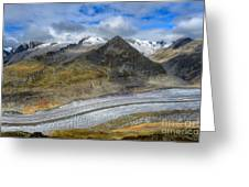 Aletsch Glacier, Switzerland Greeting Card
