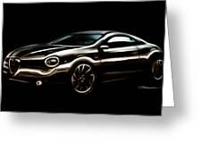 Alfa, Romeo Greeting Card