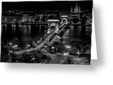 An Evening In Budapest Greeting Card