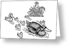 Andersen: Ugly Duckling Greeting Card