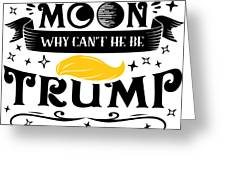 Anti Trump Impeach The President Vote For Dems Light Greeting Card