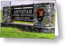 Antietam Battlefield National Park  Greeting Card