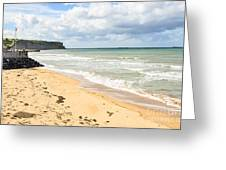 Arromanches Beach Greeting Card