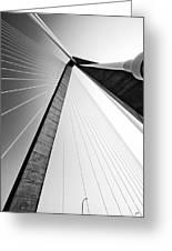 Arthur Ravenel Jr Bridge Charleston Sc Cooper River Greeting Card