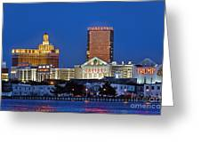 Atlantic City Skyline Greeting Card