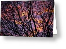 Autumn Sky Greeting Card