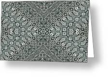 Aztec Navajo Pattern Background Greeting Card