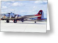 B-17 Bomber 5 Greeting Card