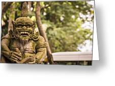 Bali Sculptures Greeting Card