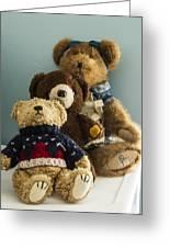 3 Bears Greeting Card