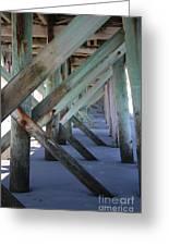 Beneath The Docks Greeting Card