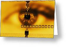 Biometric Identification Greeting Card