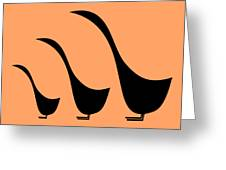 3 Birds  Greeting Card